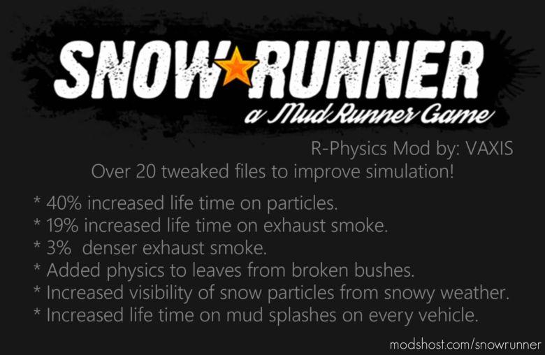 R-Physics for SnowRunner