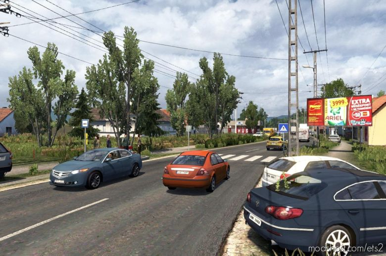 Hungary Map 0.9.28B [1.37] for Euro Truck Simulator 2
