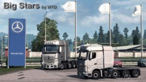 BIG Stars – Actros/Arocs SLT V1.6.1 [1.37] for Euro Truck Simulator 2