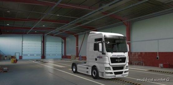 Unix Paint For MAN TGX for Euro Truck Simulator 2