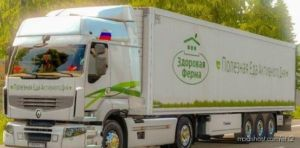 Combo Skin Healthy Farm For Renault Premium for Euro Truck Simulator 2