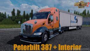 Peterbilt 387 + Interior V1.3.137C for Euro Truck Simulator 2