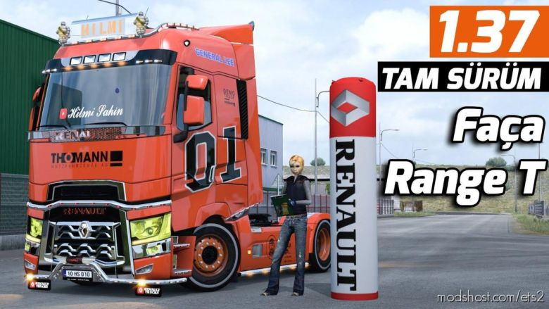 Renault T Addons V2.0 [1.37] for Euro Truck Simulator 2