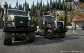 Caterpillar CT680 Improved 1.0.2 for SnowRunner