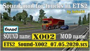 Truck Sound [1.37.X] for Euro Truck Simulator 2