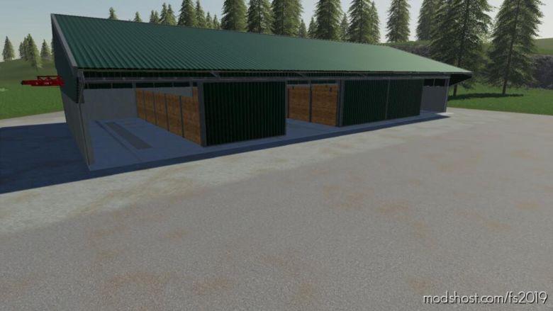 Dynamic Potato Hall for Farming Simulator 19