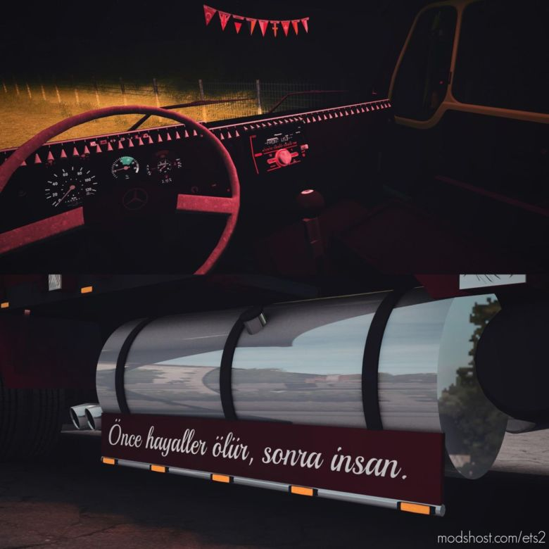 Mercedes Benz 2521 [1.37.X] for Euro Truck Simulator 2