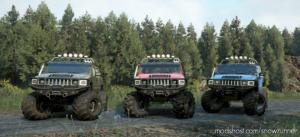 Hummer H2 MUD Modification 1.0.4 for SnowRunner