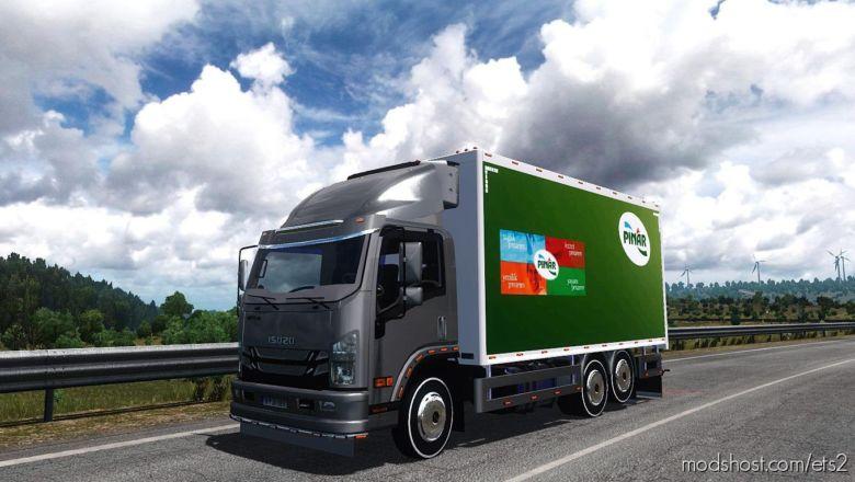 Isuzu NPR Truck [1.37] for Euro Truck Simulator 2