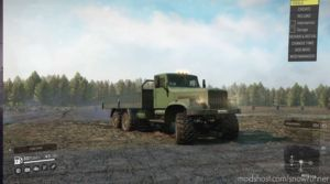 Kraz 255 With Addons And Tyres 0.1.1 for SnowRunner