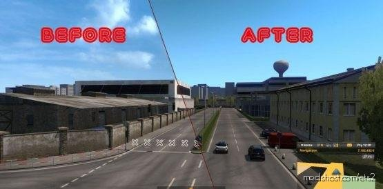 NO Road END Symbols [1.37] for Euro Truck Simulator 2