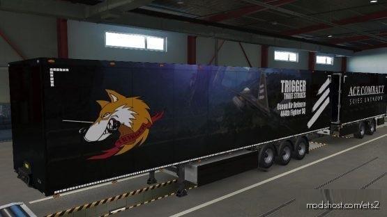 ACE Combat Trailer Skin Pack for Euro Truck Simulator 2
