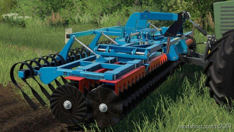 Gorenc Grinder 600 for Farming Simulator 19