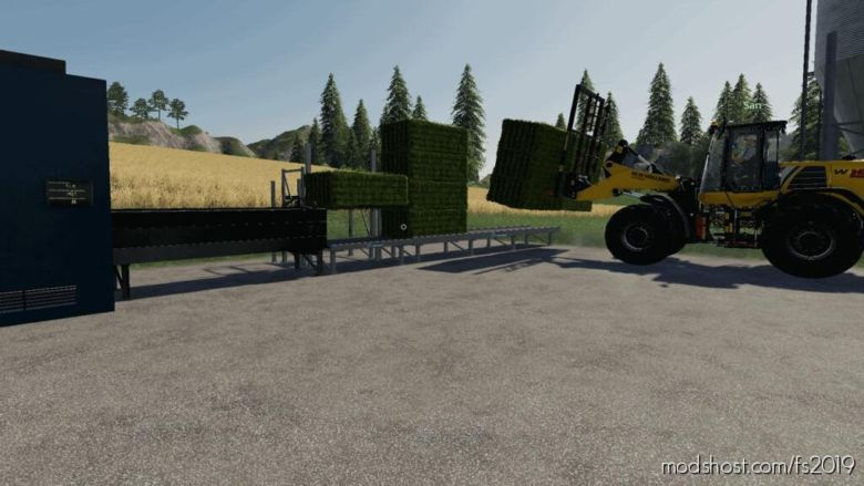 GlobalCompany – Stationary Balers for Farming Simulator 19