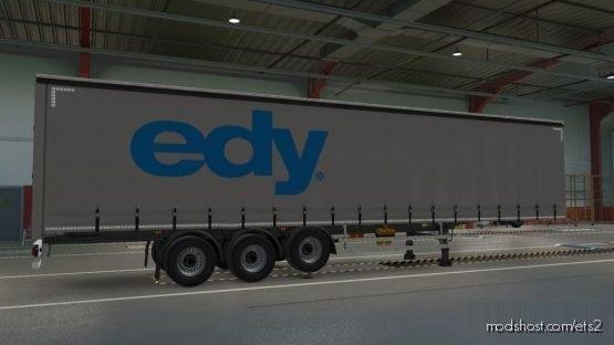 EDY Spedition Trailer for Euro Truck Simulator 2