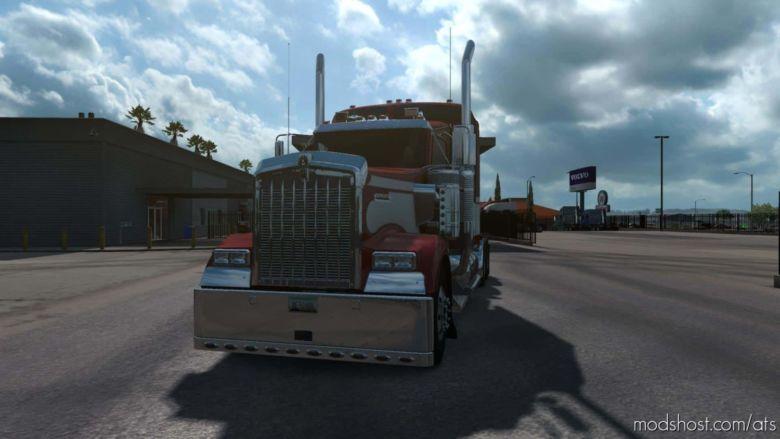 Kenworth W900 Light OQ37 Modifed V1.4 for American Truck Simulator