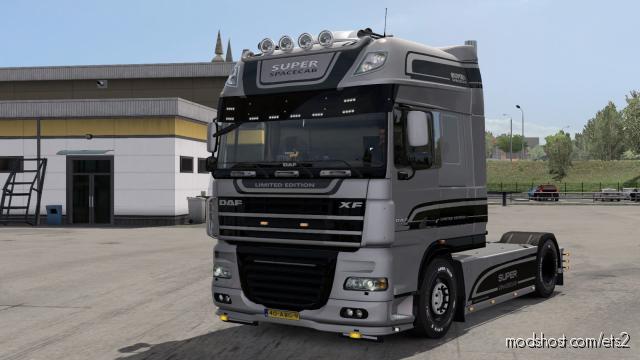 DAF XF105 LTD Edition Metallic Skin for Euro Truck Simulator 2