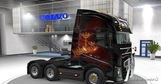 Volvo Skin Judas Priest (1.37) for Euro Truck Simulator 2