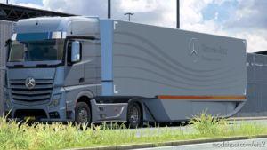 MB Aerodynamic Trailer V1.1 for Euro Truck Simulator 2