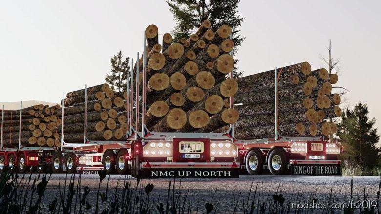 NMC LOG Trailer Pack for Farming Simulator 19