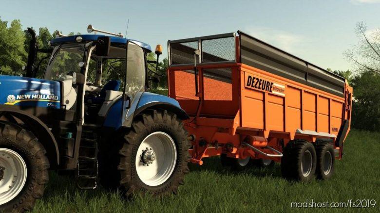 Dezeure Silocruiser SW43 for Farming Simulator 19