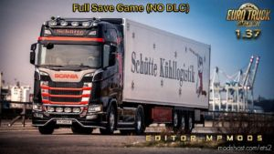 Full Save Game [1.37] (NO DLC) for Euro Truck Simulator 2