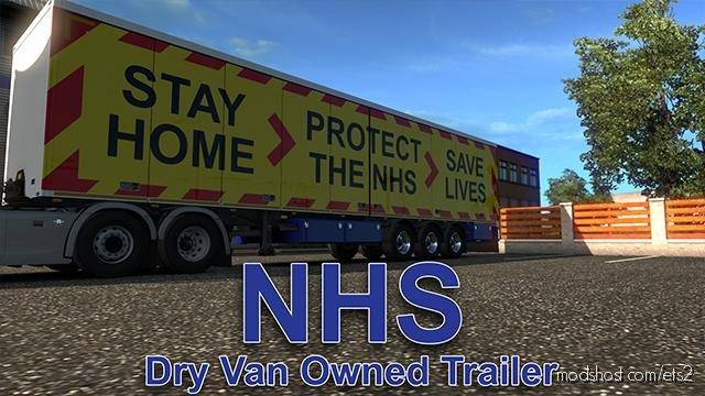 NHS Owned SCS Trailer Skin for Euro Truck Simulator 2