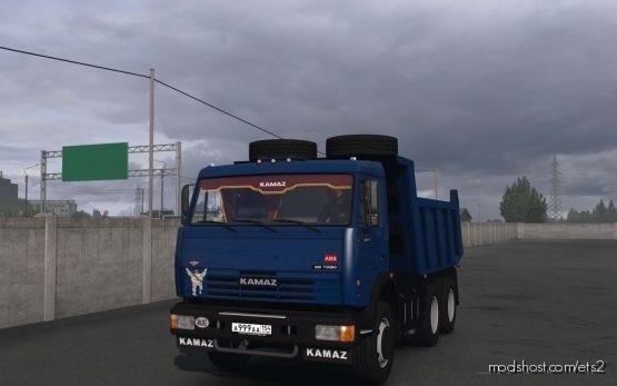 Kamaz 65115-65116 Edited for Euro Truck Simulator 2