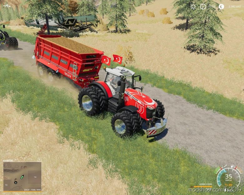 Gubre Dagitici V2.0 for Farming Simulator 19