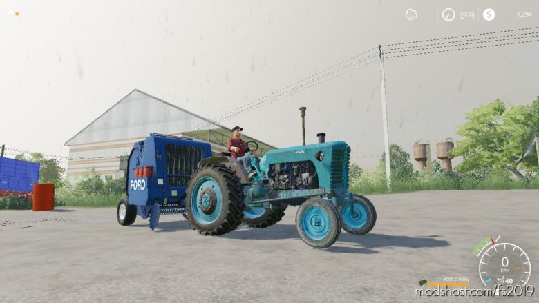 MTZ-5 WIP for Farming Simulator 19
