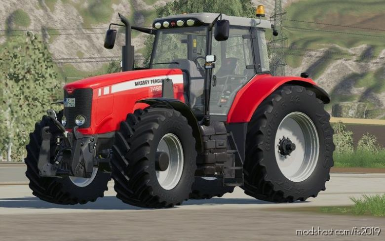 Massey Ferguson 7400 V1.0.0.1 for Farming Simulator 19
