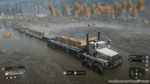 Twin Steer Truck V2 for SnowRunner