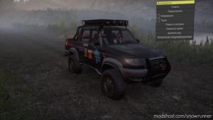 UAZ Patriot Pickup V2 Test for SnowRunner