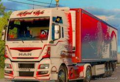 Combo Skin Holland For MAN TGX E6 And Trailer Schwarzmuller for Euro Truck Simulator 2
