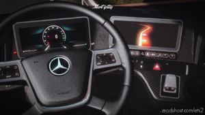 Mercedes Benz Actros MP5 – 2020 Mirrorcam [1.37] for Euro Truck Simulator 2