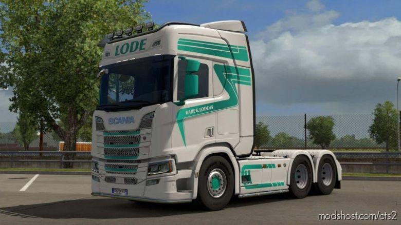 Lode Scania R 2016 for Euro Truck Simulator 2