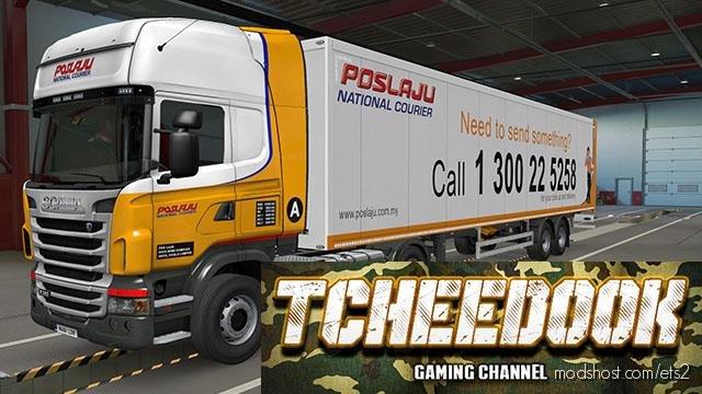 Poslaju Truck & Trailer for Euro Truck Simulator 2