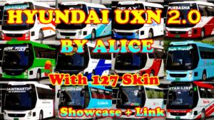 Hyundai UXN CBU 2.0 BY ALICE for Euro Truck Simulator 2
