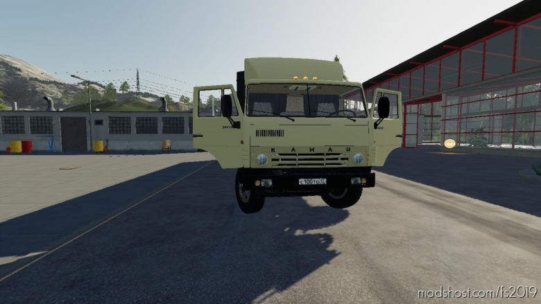 Kamaz 5410 & Nefaz 93344 for Farming Simulator 19