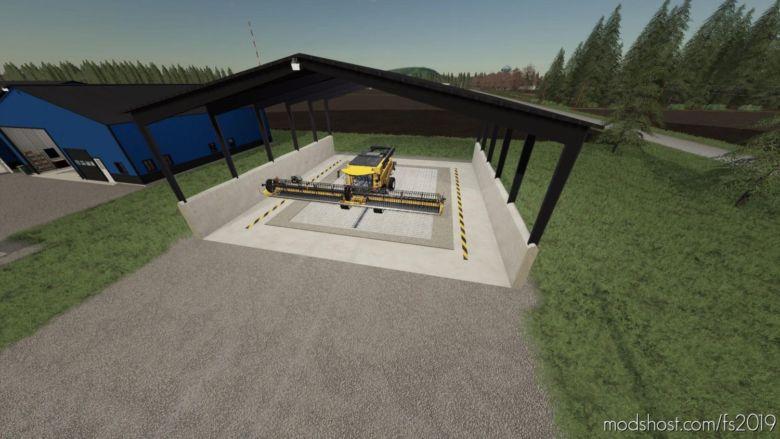 Wash Shed for Farming Simulator 19