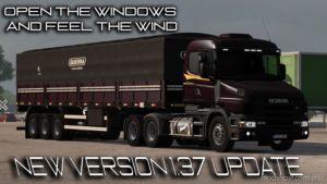 Scania T And T4 Brazilian Edit Update [1.37] for Euro Truck Simulator 2