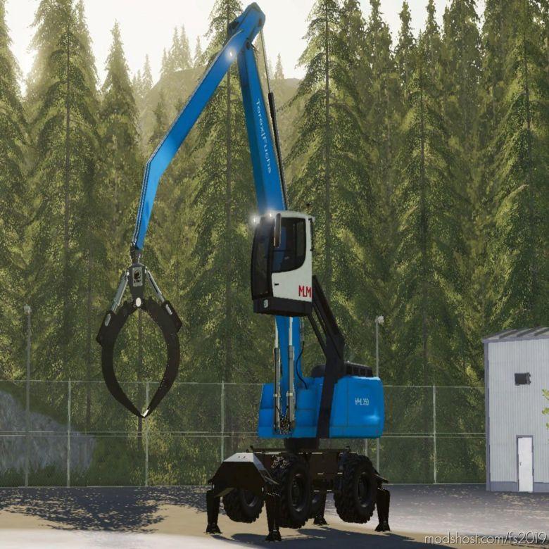 Fuchs MHL 350 V1.2 for Farming Simulator 19
