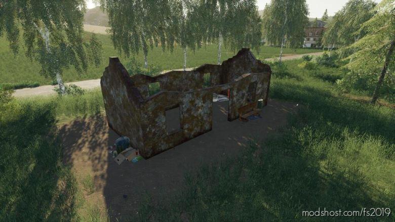 Placeable Ruins for Farming Simulator 19