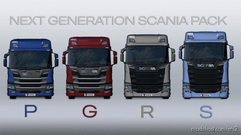 Next Generation Scania P G R S V2.1 for Euro Truck Simulator 2