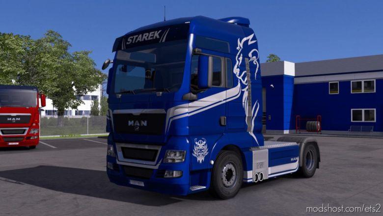 MAN TGX Starek Transport Skin [1.37] for Euro Truck Simulator 2