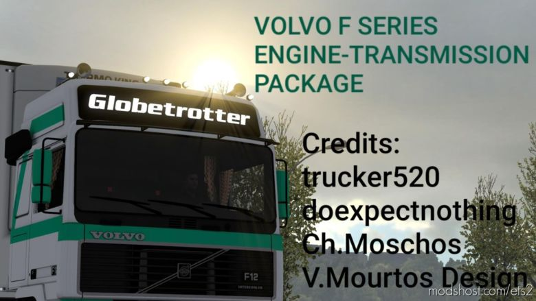 Volvo F Series Engine-Transmission Package for Euro Truck Simulator 2