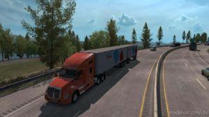 Multiple Trailers In Traffic V7.1 for American Truck Simulator