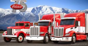 Real Engine Sounds For SCS Peterbilt Trucks V4.0 for American Truck Simulator