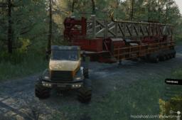 Offroad OIL RIG Semitrailer for SnowRunner