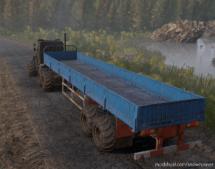 Offroad Sideboard Semitrailer for SnowRunner